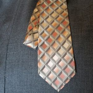 Arrow tie 100% silk